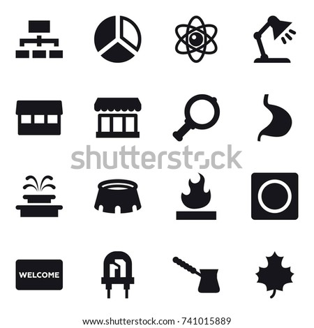 Table mat isolated stock vectors images vector art shutterstock 16 vector icon set hierarchy diagram atom table lamp market ccuart Choice Image