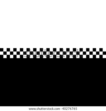 (Vector) 80s retro checkerboard design with plenty of copyspace. A Jpg version is also available. - stock vector