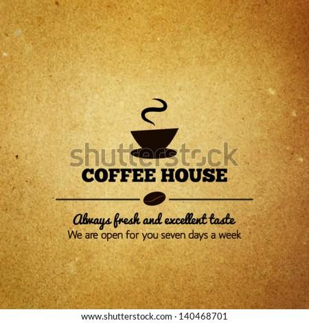 Vintage menu for restaurant, cafe, bar, coffee house - stock vector