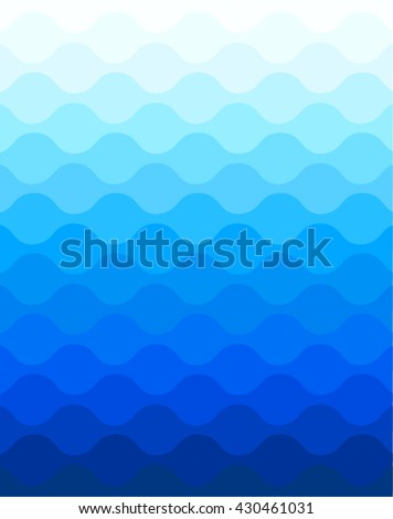 Waves , sea waves, ocean waves, waves background, wave pattern - stock vector