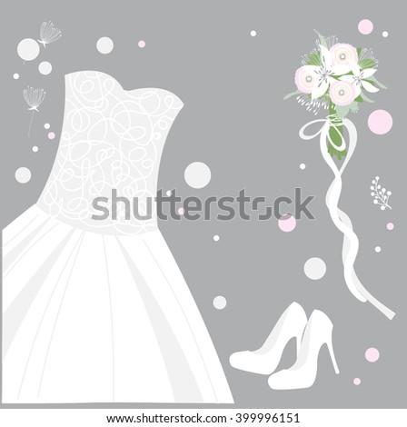 Bridal Shoes Stock Images RoyaltyFree Images Vectors