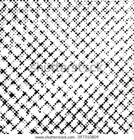 Wire Mesh Background. Grunge Black and White Mesh Distress Texture . Scratch Texture . Dirty Texture . Wall Background .Vector Illustration.
