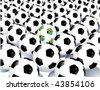 2010 World Cup South Africa balls - stock vector
