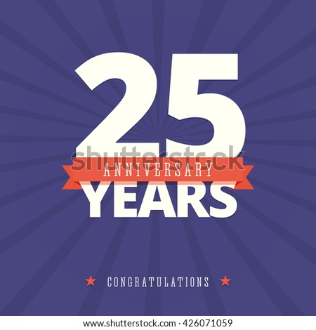 25Th Anniversary Stock Images, Royalty-Free Images & Vectors