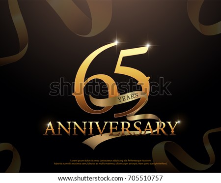 Year anniversary celebration logotype template stock vector hd