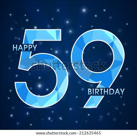 Поздравления с днем рождения 59 лет женщине, мужчине