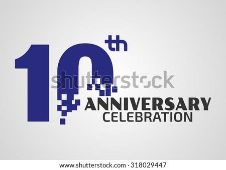 Years anniversary celebrationtemplate logo stock photo photo