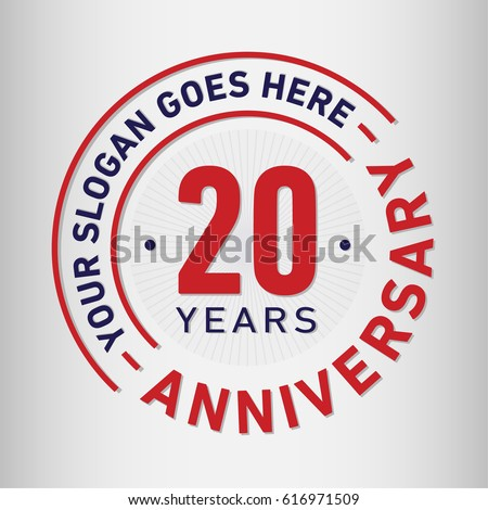 Anniversary logo stock images royalty free images vectors 20 years anniversary logo template vector and illustration altavistaventures Image collections