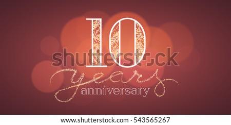 Years anniversary vector banner icon stock photo photo vector