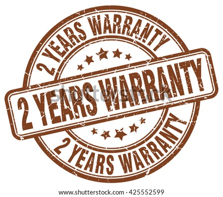 2 years warranty brown grunge round vintage rubber stamp.2 years warranty stamp.2 years warranty round stamp.2 years warranty grunge stamp.2 years warranty.2 years warranty vintage stamp. - stock vector