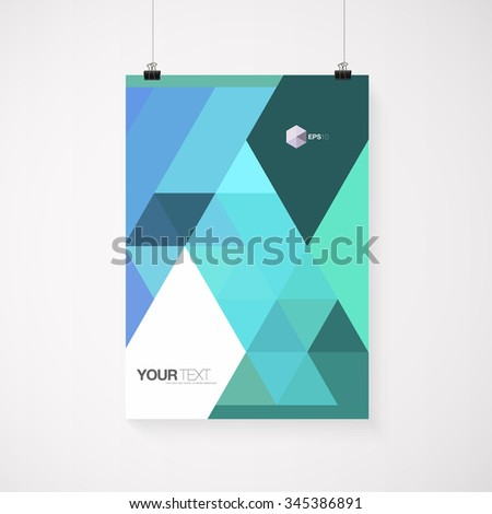 A4 A3 Format Poster Design Your Stock Vector 222281398 - Shutterstock