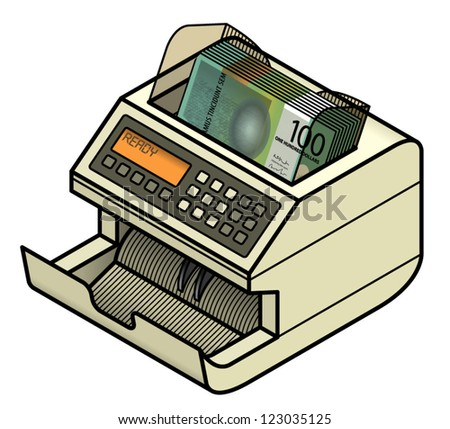 Money Counting Machine Stock Images, Royalty-Free Images & Vectors ...