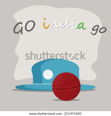 A beautiful design to cheer INDIA.