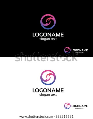 A beautifull logo could be used for the wide range companies, that connects love,charity,care. Included 5 versions of logo like in samples.