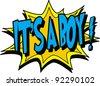a boy - stock vector