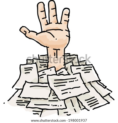 Image result for cartoon paperwork