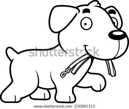 how to draw a cartoon labrador retriever
