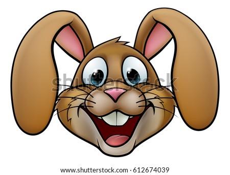 Cartoon rabbit face - photo#8