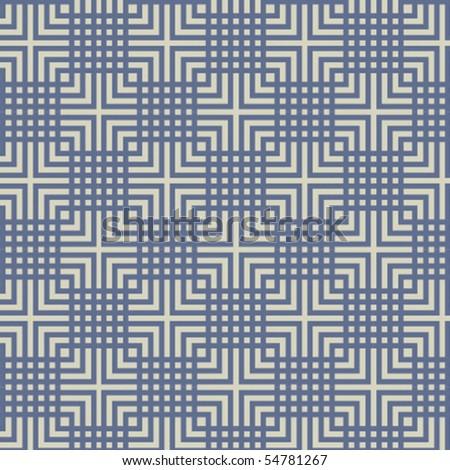 A checkered, vector pattern - stock vector