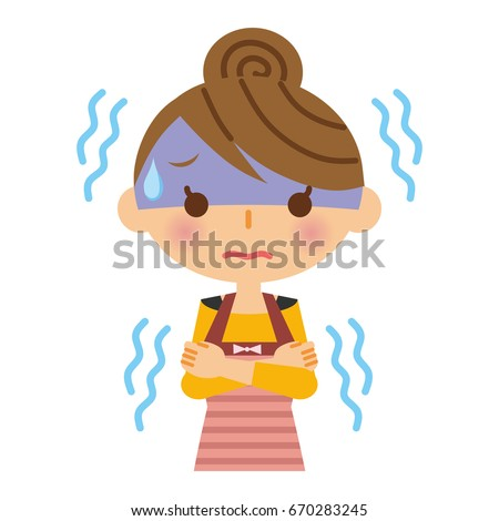 Shivering Clipart