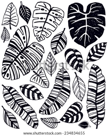 Jungle Leaves Stock Photos, Royalty-Free Images & Vectors ...