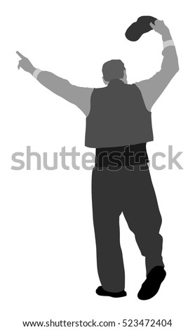 Greek Evzone Dancing Vector Silhouette Isolated Stock Photo Photo