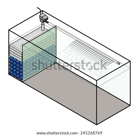 how to build a fish tank filter