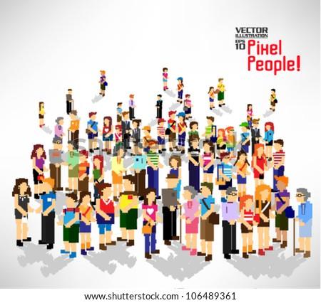 Jesus Gathering Crowd