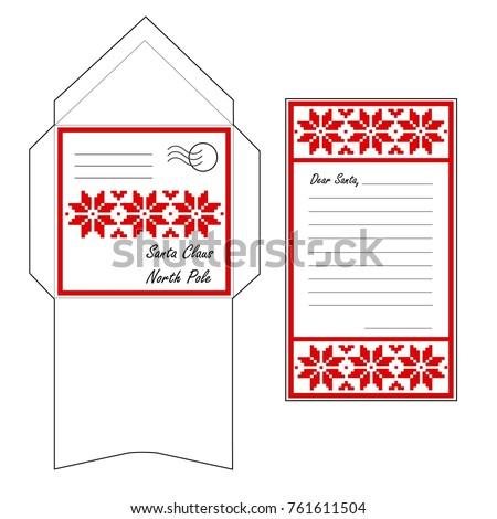 santa envelope