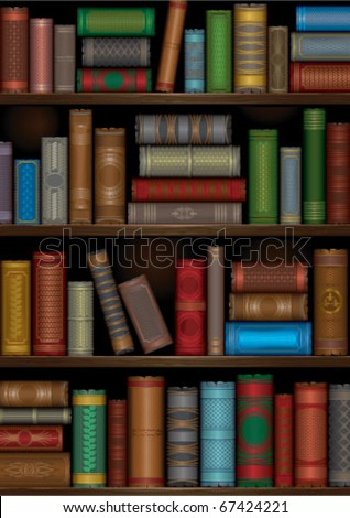 Books Shelves library shelves stock images, royalty-free images & vectors
