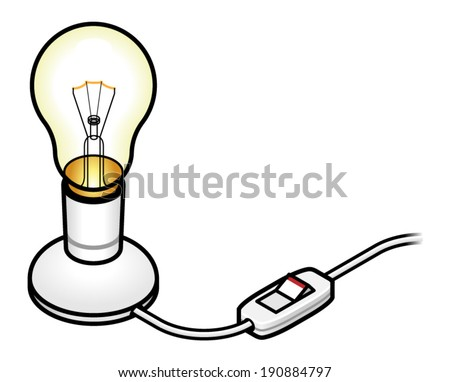 how to connect light bulb switch