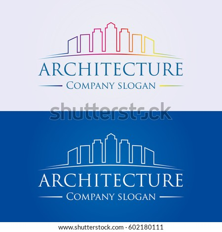 A Logo Design For Architecture Building Real Estate Finance Business Company