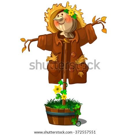 A perfect Scarecrow. Vector.