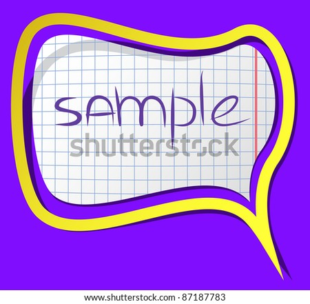 A photorealistic vector sticker with shadows and frame. Can be csaled without quality loss. - stock vector