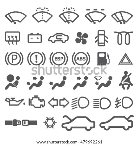 dashboard lights stock images  royalty