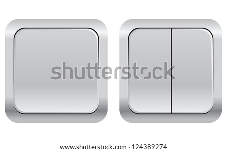 Set Household Electrical Switches Vector Illustration Stock Vector ...