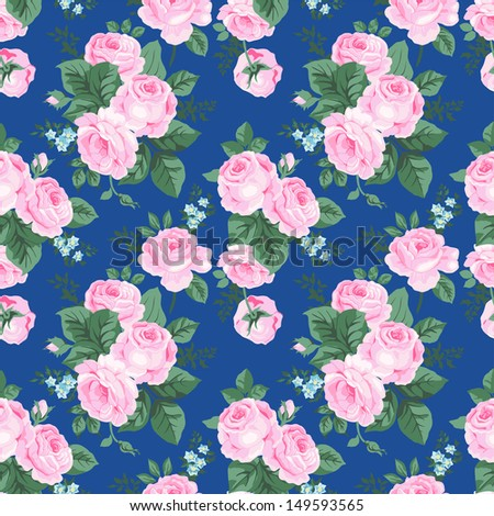 A set of seamless classic pattern - stock vector