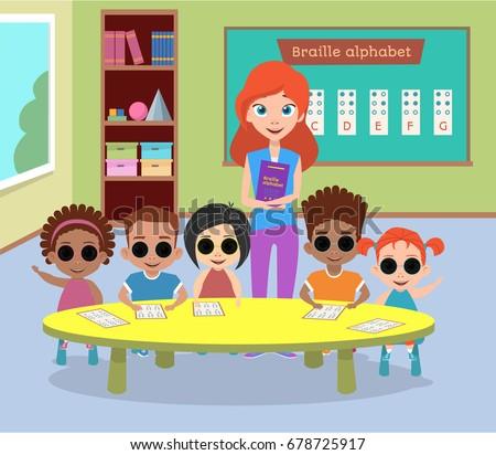 Children Activities With Glasses