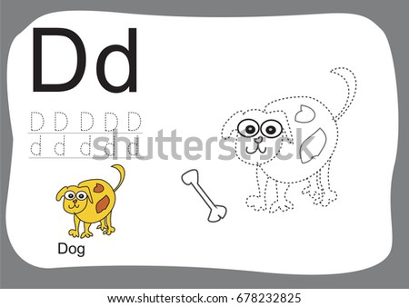 a to z alphabet tracing worksheetscartoon coloring book for kids animal drawing - Coloring Book Paper Stock