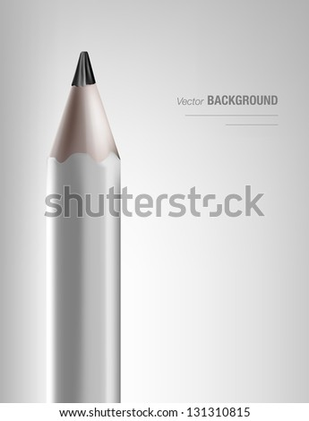 a variety of pencils - stock vector