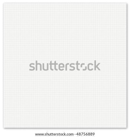 a vector illustration of a sheet of a paper