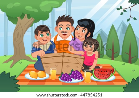 Picnic Cartoon Stock Images, Royalty-Free Images & Vectors ...