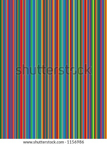 A vector image of bright pinstripes. - stock vector