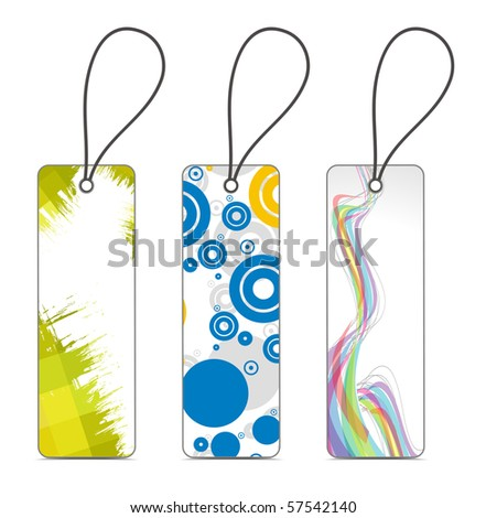 A vector - sale tag with space of your text. - stock vector