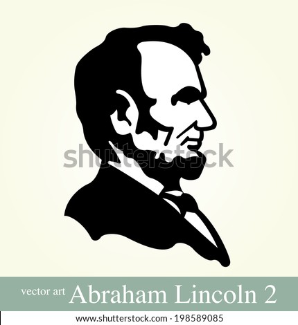 Abraham Lincoln, 16th President of the United States  - stock vector