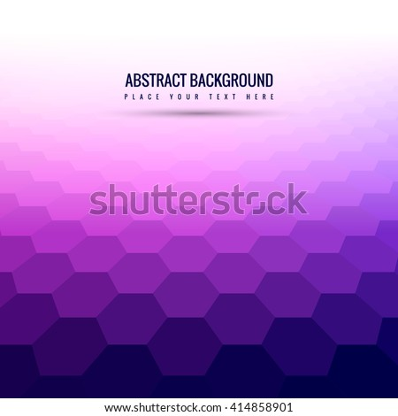 Abstarct polygon pattern background - stock vector