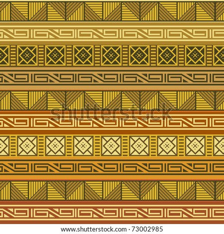 Abstract African background - stock vector