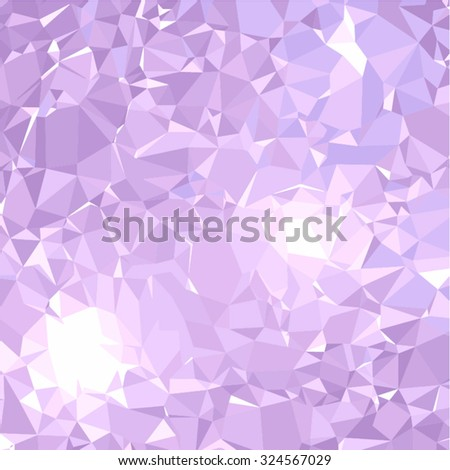 Abstract amethyst background vector illustration. Beautiful gemstone texture. Light purple, blue and pink colors. Crystal background. - stock vector
