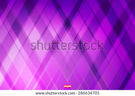 abstract angular dark purple pattern with pink texture with rhombus with abstract lilac line on violet background. vector illustration - stock vector