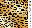 abstract animal skin seamless pattern. leopard print - stock vector